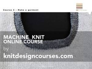 Online Course 3 - Make a Garment