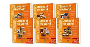2019 Stamps of the World Simplified Catalogue (Set of 6)