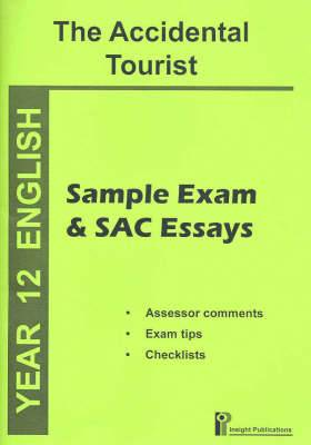 The Accidental Tourist: Sample and SAC Essays
