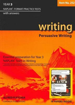 Year 3 Writing: NAPLAN-format Practice Tests with Answers