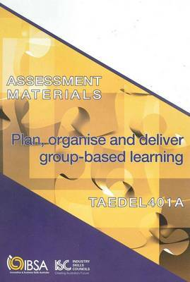 TAEDEL402A Assesment Materials
