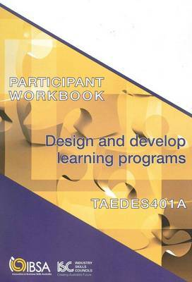 TAEDES401A Participant Workbook