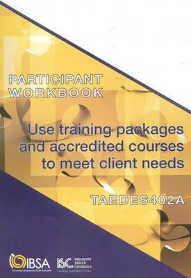TAEDES402A Participant Workbook