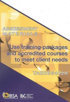 TAEDES402A Assesment Materials