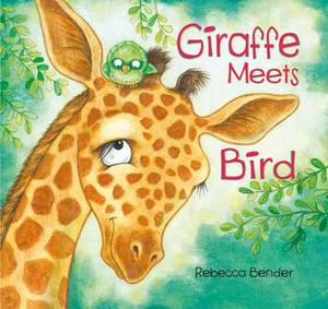 Giraffe Meets Bird