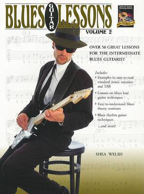 Blues Guitar Lessons, Volume 2