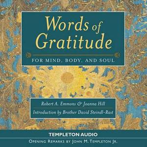Words of Gratitude: For Mind, Body and Soul