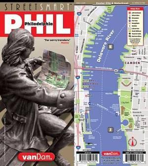 Streetsmart Philadelphia Map by Vandam