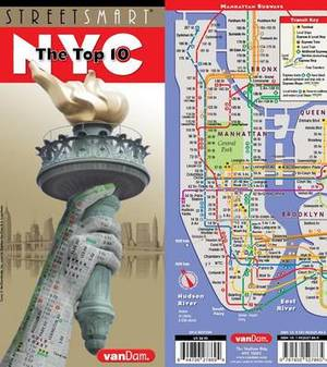 Streetsmart NYC Top 10 Map by Vandam: The Top 10