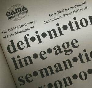 DAMA Dictionary of Data Management CD-ROM: 2nd Edition