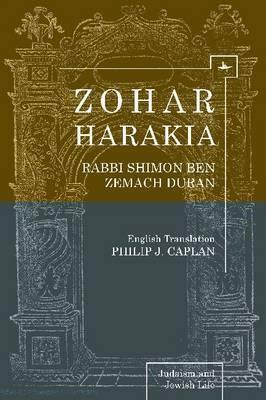 Zohar Harakia: Rabbi Shimon Ben Zemach Duran
