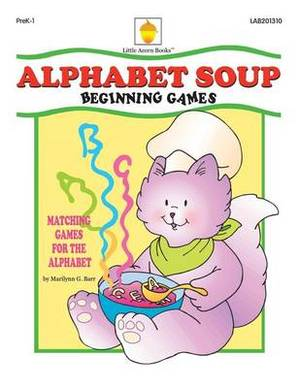 Alphabet Soup: Matching Games for the Alphabet