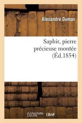 Saphir, Pierre Pr�cieuse Mont�e