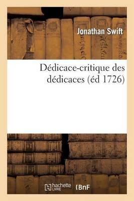 Dedicace-Critique Des Dedicaces, Ou Entr'autres Secrets Merveilleux: , on Decouvre Qu'elle Sera La Situation Des Affaires Dans Mille ANS D'Ici