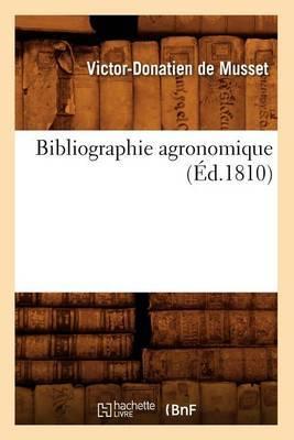 Bibliographie Agronomique