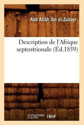 Description de L'Afrique Septentrionale (Ed.1859)