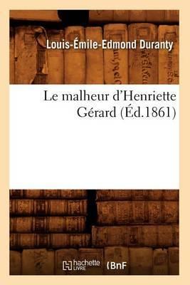 Le Malheur D'Henriette Gerard (Ed.1861)