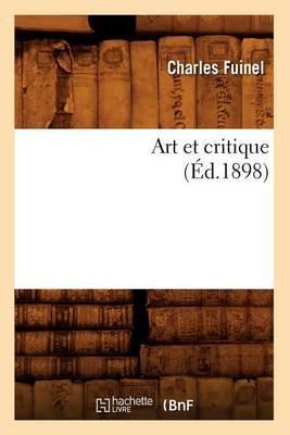 Art Et Critique (Ed.1898)