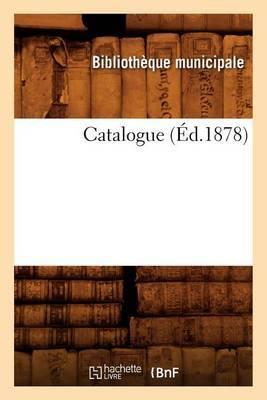 Catalogue (Ed.1878)