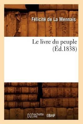 Le Livre Du Peuple (Ed.1838)
