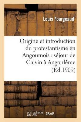 Origine Et Introduction Du Protestantisme En Angoumois: Sejour de Calvin a Angouleme: , Son Influence Et Ses Resultats, Ravages Des Protestants