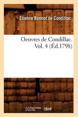 Oeuvres de Condillac. Vol. 4 (Ed.1798)