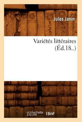 Varietes Litteraires (Ed.18..)