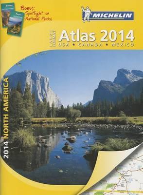 Michelin North America Large Format Atlas 2014