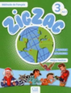 Zigzag: Livre De L'eleve A2.1 & CD Audio