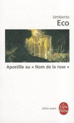 Apostille Au Nom de La Rose