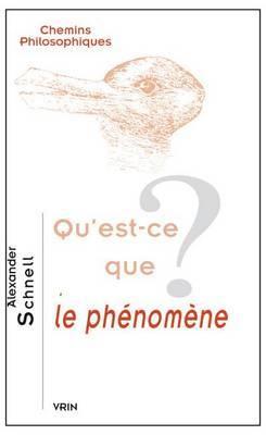 Qu'est-Ce Que Le Phenomene?