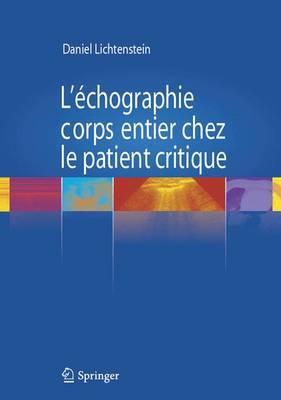 L'Echographie Corps Entier Chez le Patient Critique
