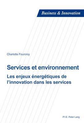 Services Et Environnement: Les Enjeux Energetiques de L'Innovation Dans Les Services