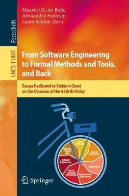 From Software Engineering to Formal Methods and Tools, and Back: Essays Dedicated to Stefania Gnesi on the Occasion of Her 65th Birthday