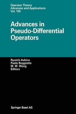 Advances in Pseudo-Differential Operators