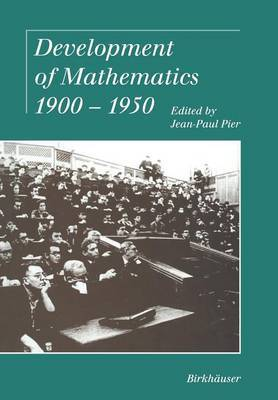 Development of Mathematics 1900-1950
