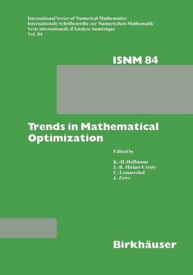 Trends in Mathematical Optimization: 4th French-German Conference on Optimization