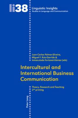 Intercultural and International Business Communication: Theory, Research, and Teaching
