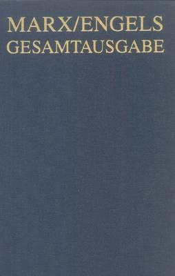 Karl Marx / Friedrich Engels: Exzerpte Und Notizen, September 1853 Bis Januar 1855