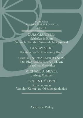Vortrage Aus Dem Warburg-Haus. Band 5