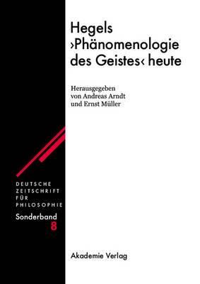 Hegels Ph nomenologie Des Geistes Heute