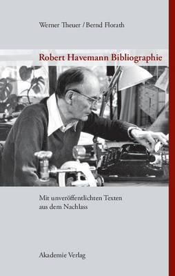 Robert Havemann Bibliographie