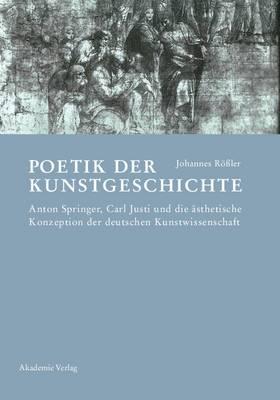 Poetik Der Kunstgeschichte