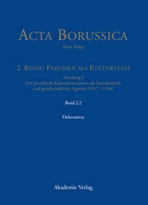 Das Kultusministerium Auf Seinen Wirkungsfeldern Schule, Wissenschaft, Kirchen, K�nste Und Medizinalwesen - Dokumente