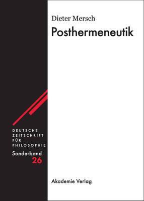 Posthermeneutik