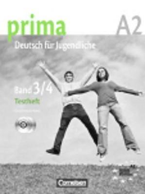 Prima - Deutsch Fur Jugendliche: Testheft Band 3/4 MIT CD