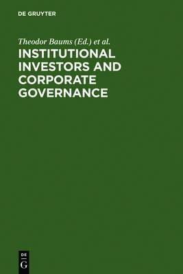 Institutional Investors and Corporate Governance
