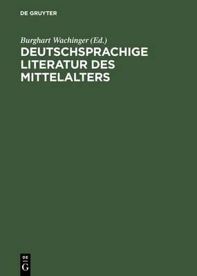 Deutschsprachige Literatur DES Mittelalters: Studeienauswahl Aus Dem,  Erfasserlexikon  (Band 1-10)