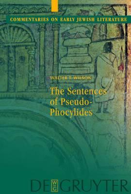 The Sentences of Pseudophocylides