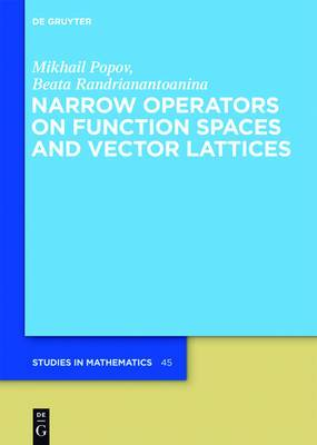 Narrow Operators on Function Spaces and Vector Lattices
